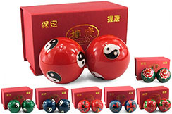 Qi Gong Balls, Enamel 1