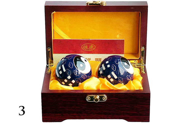 Qi Gong Balls, Enamel 3