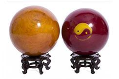 Taichi Ball, plain wood