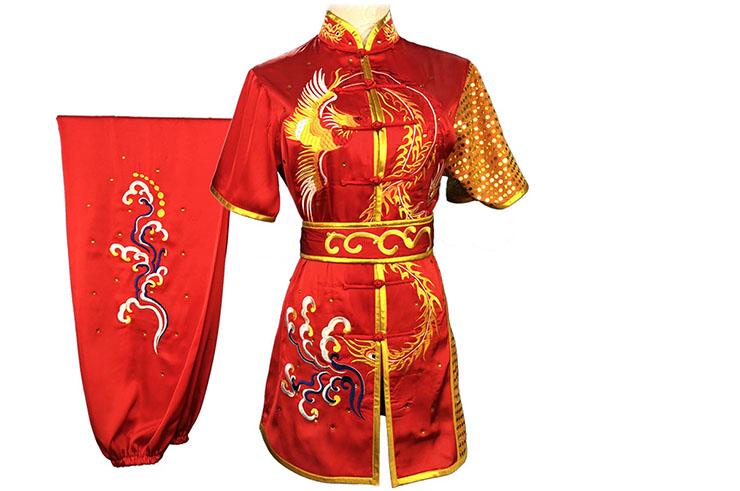 HanCui Chang Quan Compétition Uniform, Red Phoenix