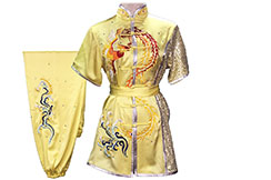 HanCui Chang Quan Compétition Uniform, Yellow Phoenix