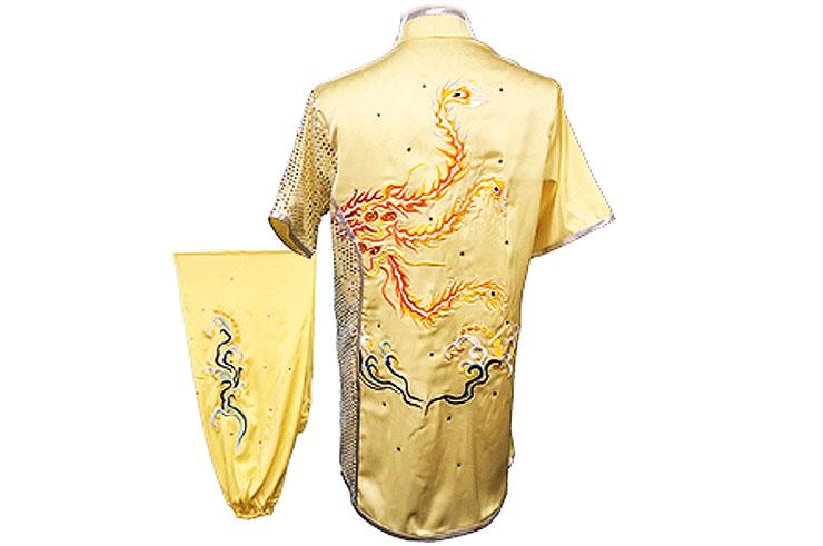 HanCui Chang Quan Compétition Uniform, Yellow Phoenix