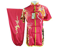 HanCui Chang Quan Competition Uniform, Pink Dragon
