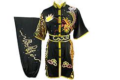 Traje competición Chang Quan HanCui, Dragón Negro y Oro 1