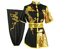 Tenue Compétition Chang Quan HanCui, Dragon Noir & Or 2