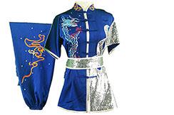 Traje competición Chang Quan HanCui, Dragón Azul y Plata 1
