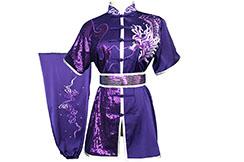 HanCui Chang Quan Competition Uniform, Purple Dragon