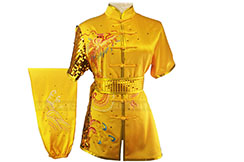 HanCui Chang Quan Competition Uniform, Golden Dragon