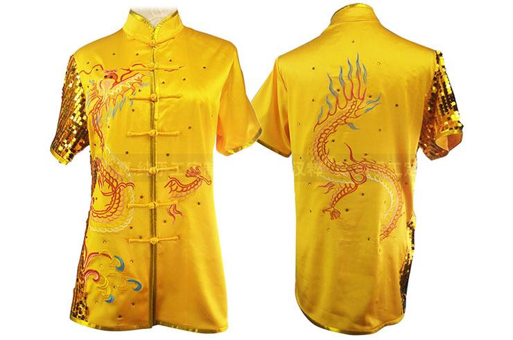 HanCui Chang Quan Competition Uniform, Golden Dragon