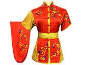 Tenue Compétition Chang Quan HanCui, Nuages Rouge & Or