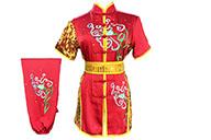 Traje competición Chang Quan HanCui, Flores Roja y Oro