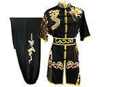 Traje competición Chang Quan HanCui, Dragón Negro y Oro 5