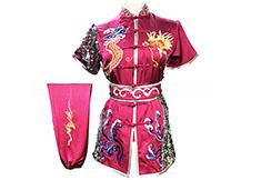 Tenue Compétition Chang Quan HanCui, Dragon Rose & Argenté