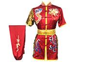 Traje competición Chang Quan HanCui, Dragón Rojo y Oro 2