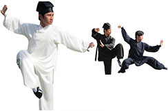 Wudang Uniform Slanted Opening