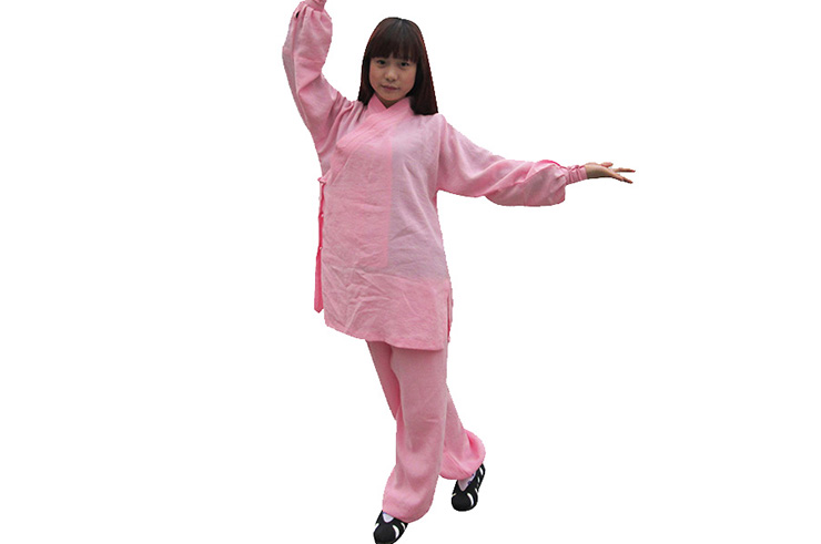 Women Wudang Uniform Slanted Opening
