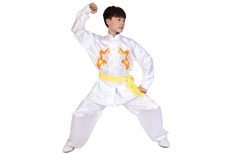 Traje Taiji Dragónes Dobles, Shaolin