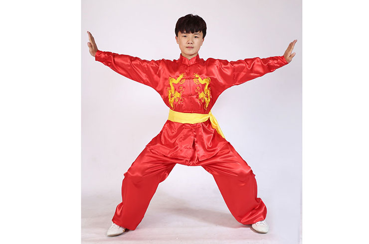 Tenue Taiji Double Dragons, Shaolin