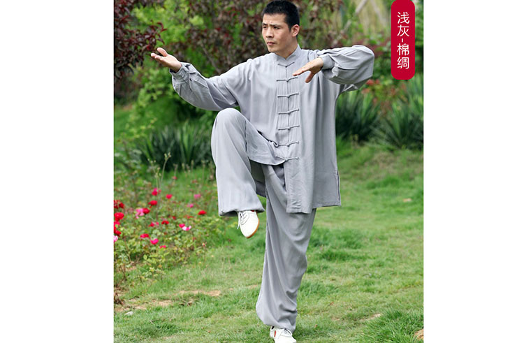 Tai Chi Uniform, Viscose+Cotton