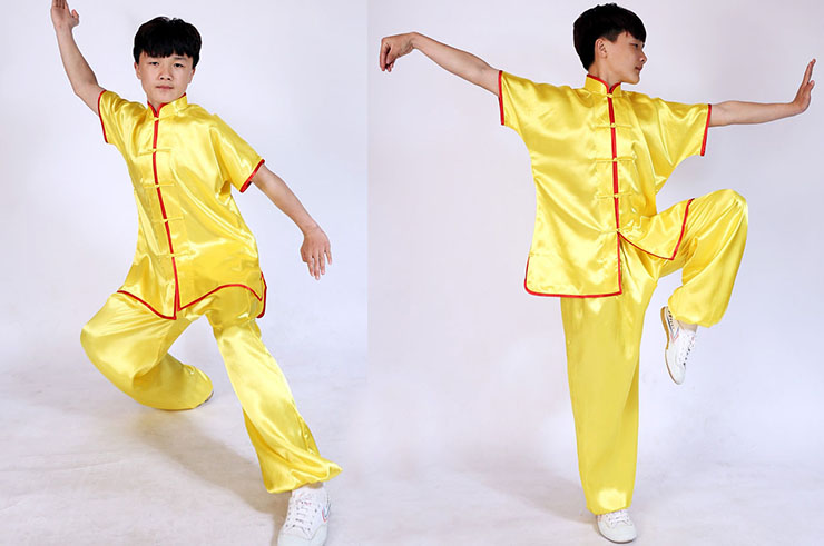 Traje Chang Quan, Satén