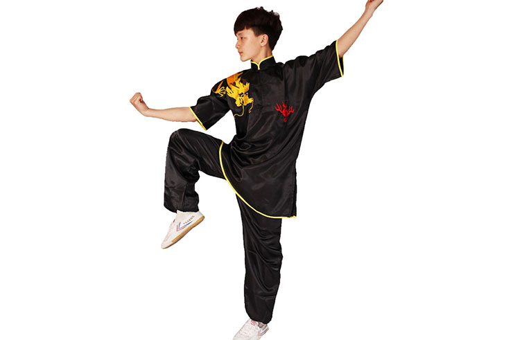 Tenue Chang Quan Dragon, Satin