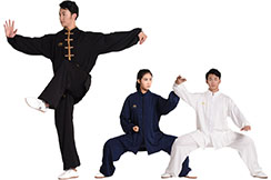 Tai Chi Uniform with Velour, Lining