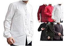 Chinese Shirt Long Sleeves, Cotton