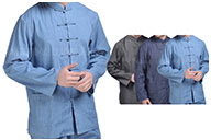 Traditional Top «Tangzhuang» Long Sleeves 3