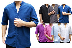 Chinese Shirt Short Sleeves 2