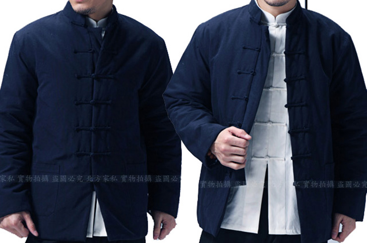 Veste traditionnelle «Tangzhuang» Hiver