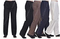 Pantalón 'Tangzhuang' Bolsillos de Lado, Algodón 1