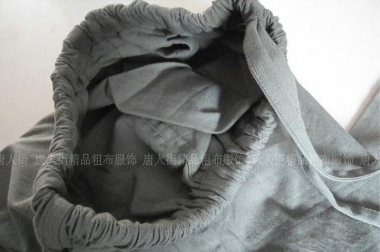 Pantalón 'Tangzhuang' Bolsillos de Lado, Algodón 2