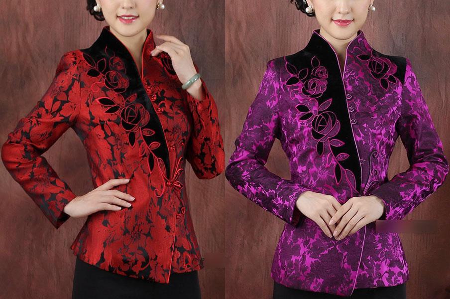 Haut Traditionnel «Tangzhuang» Femme 2, Dooyun