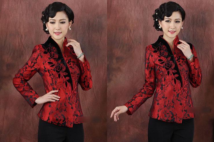 Top tradicional 'Tangzhuang' Mujer 2, Dooyun