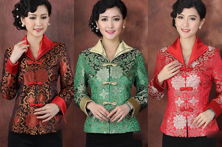Haut Traditionnel «Tangzhuang» Femme 3, Dooyun