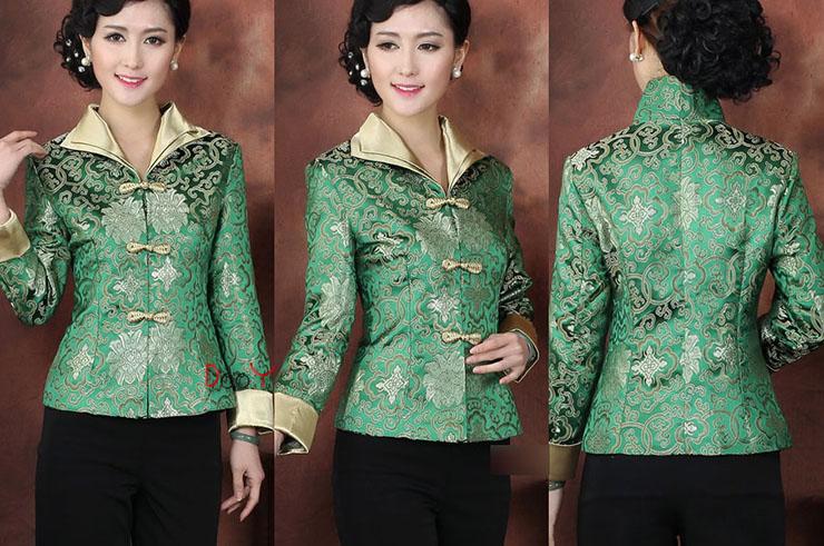 Top tradicional 'Tangzhuang' Mujer 3, Dooyun
