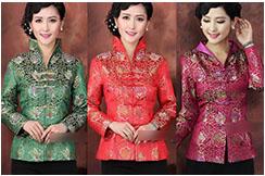 Traditional Top «Tangzhuang» Woman 4, Dooyun