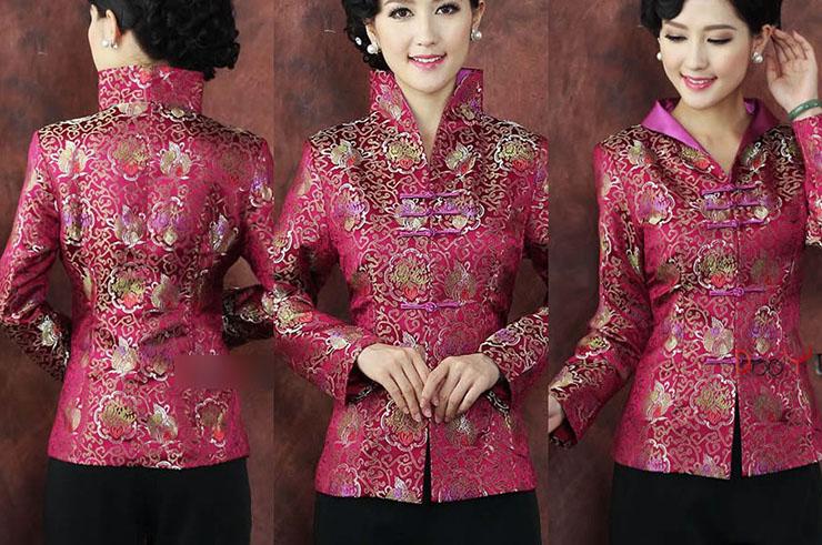 Top tradicional 'Tangzhuang' Mujer 4, Dooyun