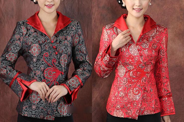 Top tradicional 'Tangzhuang' Mujer 5, Dooyun