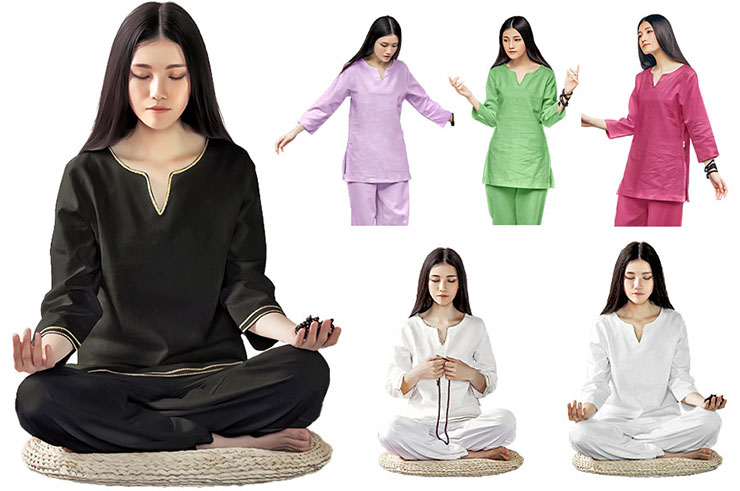 Tenue Yoga KSY 2 coton lin