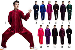 Velour Tai Chi Uniform, Qingyu