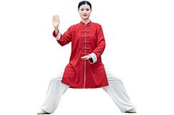 Traje de Taiji ZhengFengHua, HongSeMianMa