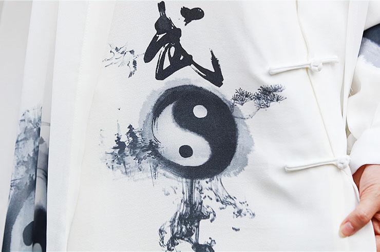 ZhengFengHua Taiji uniform, YinYang with cloak