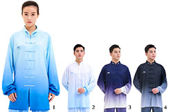 LiNing Taiji Uniform, Blue Gradient