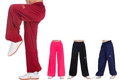 Pantalón de Taiji LiNing, DengLong con Terciopelo