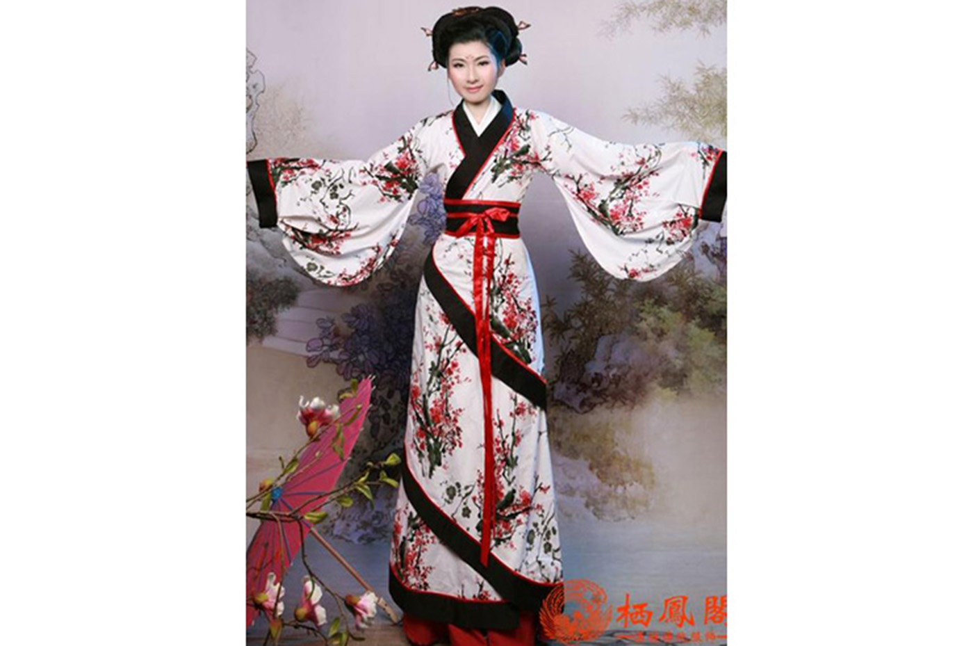 Hanfu, Tenue Chinoise Traditionnelle, Femme 2