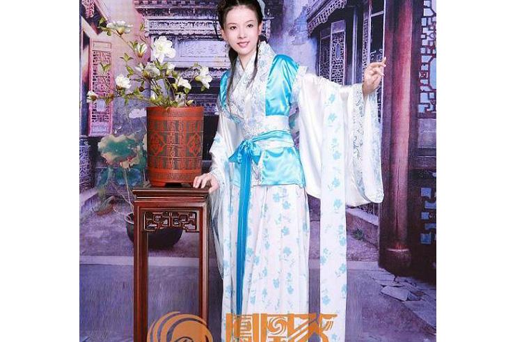 Hanfu, Traje Tradicional Chino, Mujer 4