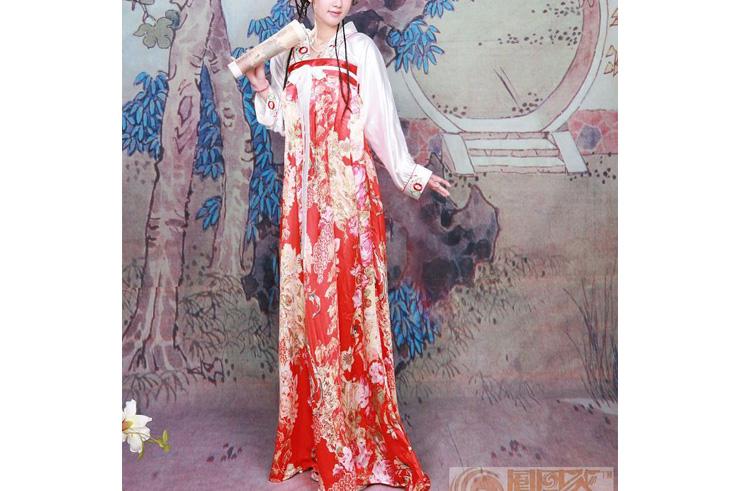 Hanfu, Traje Tradicional Chino, Mujer 6