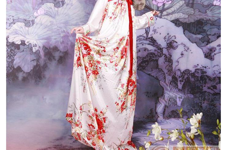 Hanfu, Traje Tradicional Chino, Mujer 7