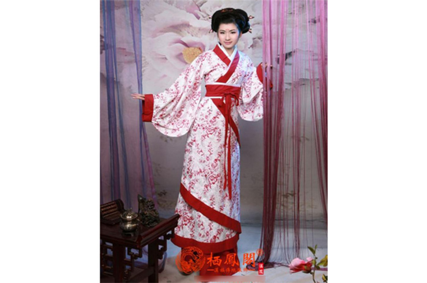 hanfu traditional chinese clothing woman 12 chinatown shop. Black Bedroom Furniture Sets. Home Design Ideas